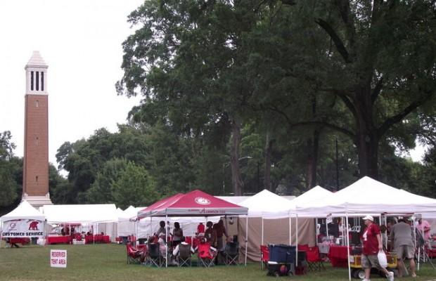 2013 Alabama vs Ole Miss Tailgate